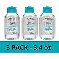 3-Pack Garnier SkinActive Micellar Makeup Remover & Facial Cleanser