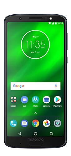 Motorola Moto G6 Plus Smartphone (15, 0 cm (5, 9 Zoll), 64GB interner Speicher, 4GB RAM, Android) Deep Indigo