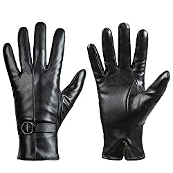 Best Gloves For Driving In Winter - Dsane Women's Leather Touchscreen Driving Gloves