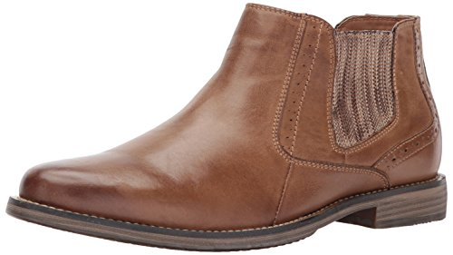 Steve Madden Men's Paxton Chukka Boot, Camel Leather, 8 US/US Size Conversion M US
