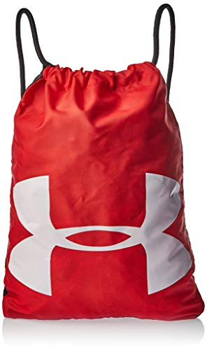 Under Armour UA Ozsee Sackpack Mochila, Unisex adultos, Rojo (Rojo)