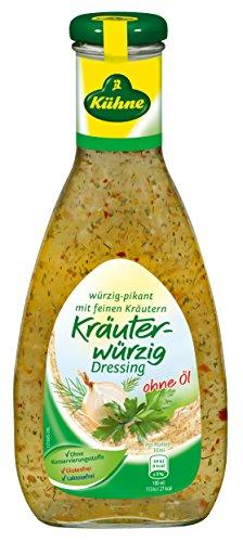 Kühne Dressing Kräuterwürzig ohne Öl, 7er Pack (7 x 500 ml)