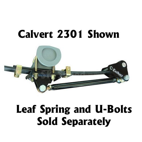 Calvert Racing 3701 CalTrac Low Profile Leaf Spring Traction Bars - 1983-2004 S10/S15 Trucks