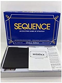 SEQUENCE Deluxe Edition Board Game Sequence Box With Party Funny Toy Family Game Unisex
