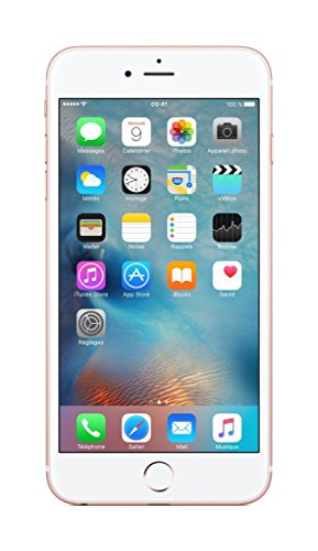 Apple iPhone 6s Plus Smartphone (13,9 cm (5,5 Zoll) Display, Plus 16GB interner Speicher, IOS) rosegold (Generalüberholt)