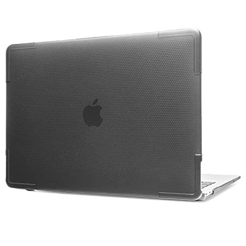tomtoc Hülle für 13-Zoll MacBook Air 2018-2021, Leicht Hart Schale Schutzhülle, Passexakt Hardshell Hülle Cover Zubehör für MacBook Air M1 Chip/A2337 A2179 A1932