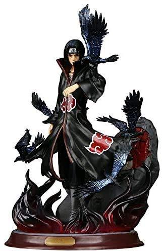 Anime Naruto Uchiha Itachi PVC Pop Colección de figuras de acción Modelo Akatsuki Cuervo Adornos...