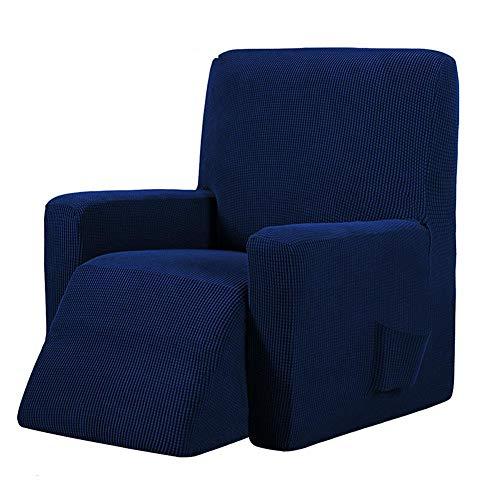 Lubier 1 funda protectora para sofá de silla de tela elástica para muebles de silla de 1 plaza, para sala de estar