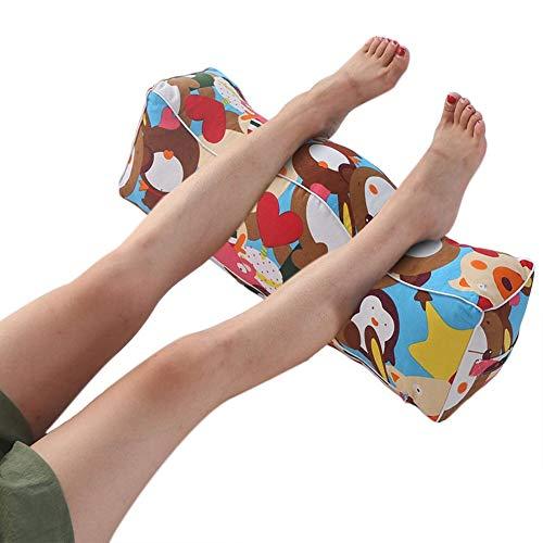 QIANCHENG-Cushion Fußkissen Schwellung der Beine und Füße Kissen Taillenkissen Venöse Beinheben Kissen Kissen Lendenkissen, Waschbar, 50x17x17cm (Color : #4)