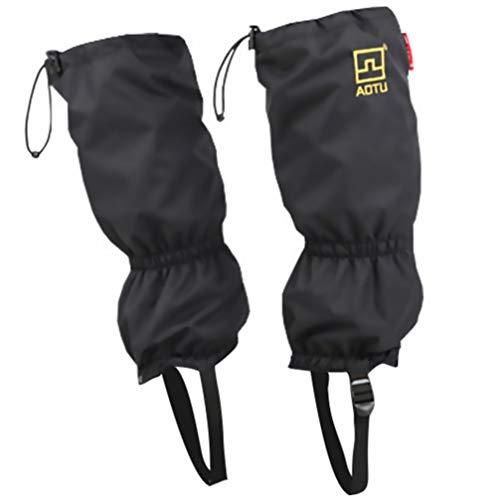 BESPORTBLE wasserdichte Beingamaschen Schneeschuh Schuhgamasche zum Schneeschuhwandern Wandern Klettern Jagen Laufen Klettern Schutzausrüstung für Männer Frauen