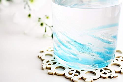 やんばるガラス工芸館『海蛍ロックグラス』