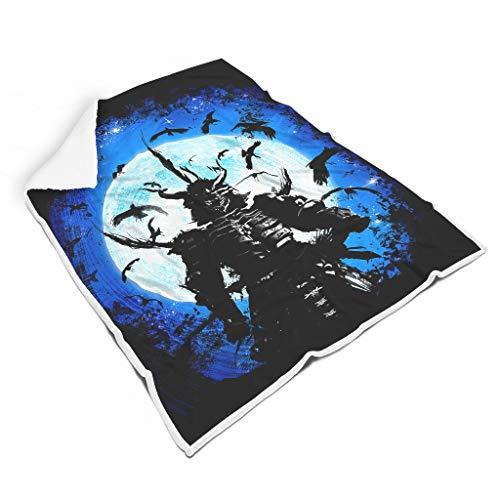 Zhcon Ninja Warrior Decke, Neuheits Supersoft Flanell Mikrofaser TV-Decke, super Flauschige Wärmedecke Für Erwachsene Und Kinder