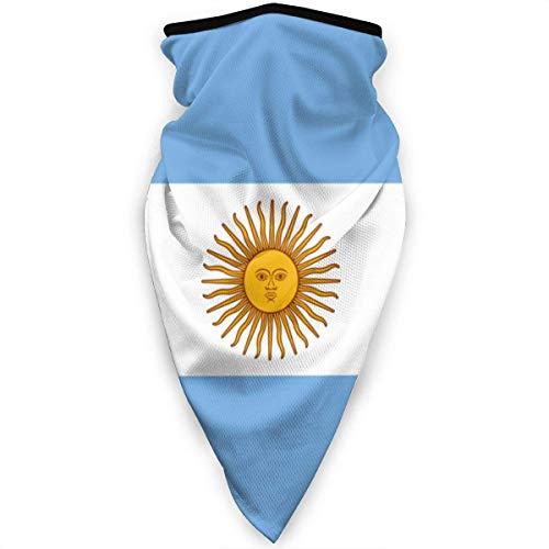 Flag of Argentina Hombres Mujeres Bandanas,Diademas para Exteriores,Magic Diadema,Paño De Manguera,Bufanda Multifuncional