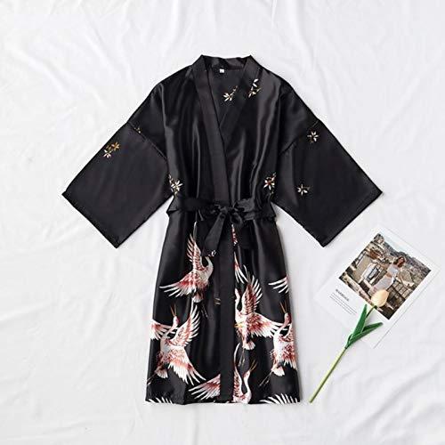 Weixin Satin Robe Girls Sexy Seda y Ropa Novia Tocador Pijamas Night...