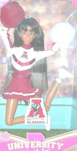 Brunette Alabama Crimson Tide University Barbie