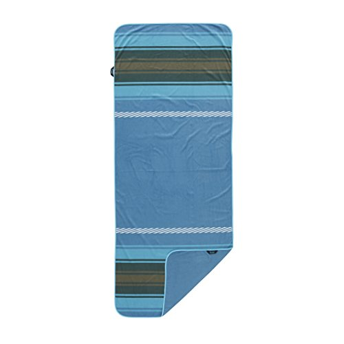 Rumpl The Shammy Towel   Super Absorbent Towel for Travel, Baths, Yoga, Beach Trips, Swimming, Sports, and More   1-Person, Slate Blue (Last Season)