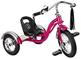 Product Image of the Schwinn Roadster Kids Tricycle, Classic Tricycle, Bright Pink