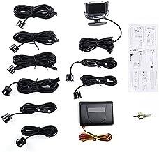 $49 » Car Parktronic LED Parking Sensor With 8 Sensors Reverse Backup Parking Radar Monitor Detector System Kit Backlight Display