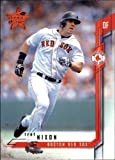 2001 Leaf Rookies and Stars #72 Trot Nixon MLB Baseball Trading Card. rookie card picture