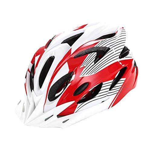 Lewpox Casco de Bicicleta de Casco de Bicicletas, Casco de Bicicleta de Bicicleta de Macho y Femenino de la Ciudad de la Ciudad, Casco para el Concurso al Aire Libre y el Deporte