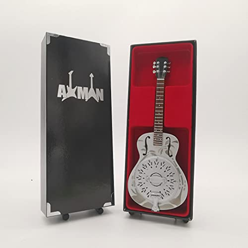 Mark Knopfler (Dire Straits): National Duolian Resonator: Guitarra Réplica en miniatura