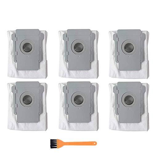 DONGYAO Bolsas de repuesto multiset para aspiradoras IRobot Roomba I7 I7+ S9 S9+ Base limpia para aspiradoras (tamaño: 7 piezas) para aspiradora (tamaño: 7 piezas)