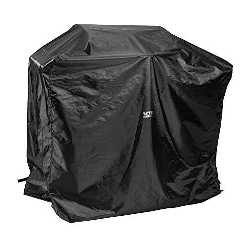 Mayer Barbecue, Grillabdeckung, Grill Abdeckhaube, schwarz, 145 x 65 x 100 cm, wetterfest