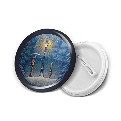 Runde Abzeichen DIY Knöpfe Narnia Magische Laterne Mode Halter Mini Broschen Pin Abzeichen Kleidung Button Pins 4,5 cm