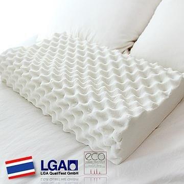 HONORS 天然ラテックス100% 高反発枕(ドリアン型枕) いびき防止 酷いイビキや無呼吸症候群の方にお勧め! 洗濯可能 59x37x12cm