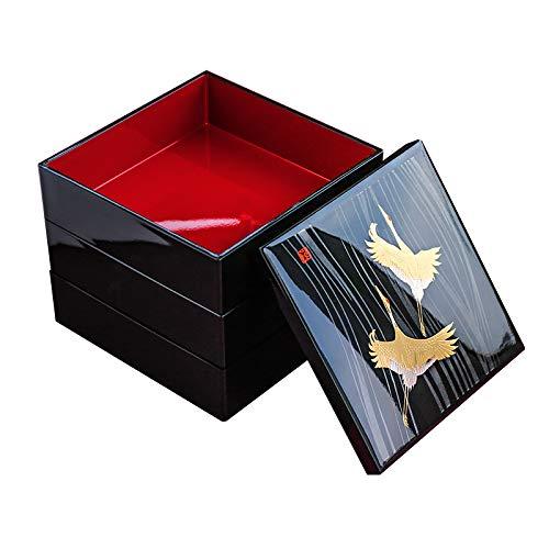 HAIHF Aufbewahrungsbox, Perlmutt Asiatischer Lack Holzvogel Schmucketui Schmuckstück Andenken Schatz Geschenkbox Juwel Ringbox Etui Organizer