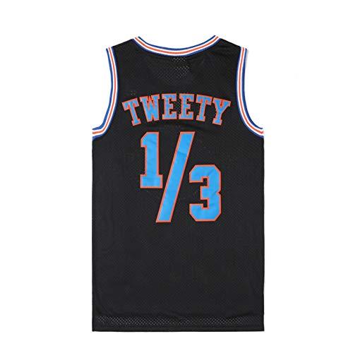 OMRIHAN - Camiseta de baloncesto cosida, sin mangas, unisex, de malla transpirable, de secado rápido, ropa deportiva de baloncesto 90S Hip Hop (S-3XL)
