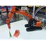 HITACHI 1/50 完成品 ZAXIS 225USRK Excavator(Equipped with bucket + hammer) ダイキャスト 掘削機