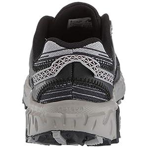New Balance Women's 410 V6 Trail Running Shoe, Black/Magnet/Champagne Metallic, 6 M US