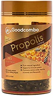 Goodcombo Propolis 1000mg Soft Gel Capsule 365s, 440 grams