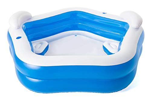 Bestway Family Pool Fun, 213 x 206 x 69 cm