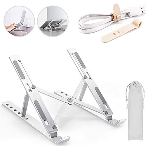 Laptop Stand Multi-Angle Stand Notebook Stand Height Adjustable Laptop Stand Holder Laptop Raiser Pad Stand for Laptop