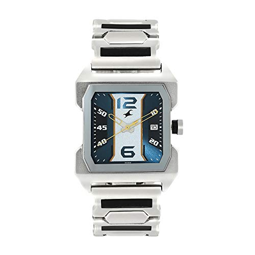 Fastrack analog Blue Dial Men's Watch NM1474SM05/NN1474SM05