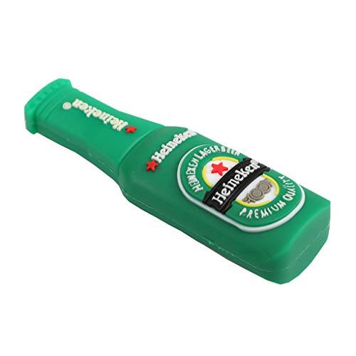 PETSOLA Chiavetta USB Creativa Beer Bottle Style USB Pen Drive U Disk Memory Stick - 256M