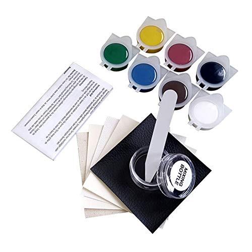 Crazywind No Heat Leder-Vinyl-Reparatur-Set zur Reparatur von Lederausbesserungs-Set, Risse Verbrennungen, Sofas, Löcher, Auto, Boot, Sitze, Geldbörse