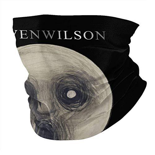 lymknumb Scaldacollo in microfibra multifunzione unisex per donna Steven Wilson Face cover