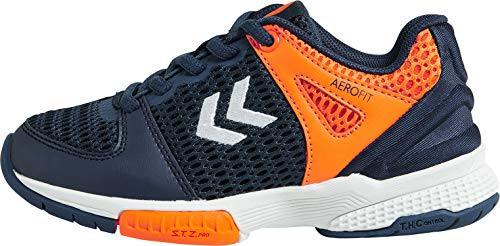 hummel Unisex Kinder Aerocharge Hb 200 2.0 Jr Multisport Indoor Schuhe, Poseidon, 35 EU