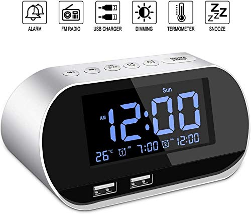 Alarm Clock Radio,FM with Sleep ...