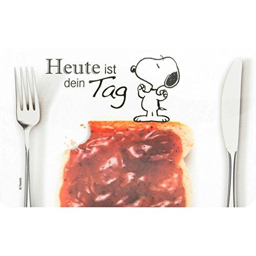 Peanuts - Frühstücksbrettchen Snoopy: Heute ist dein Tag