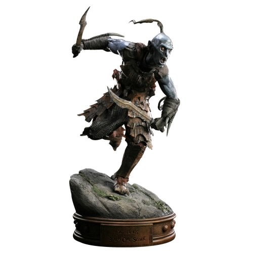Warner Bros. The Lord of the Rings Black Orc of Mordor Polystone Statue by Sideshow Collectibles
