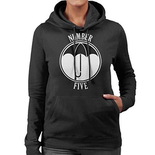 Cloud City 7 Umbrella Academy Number Five Women's Hooded Sweatshirt