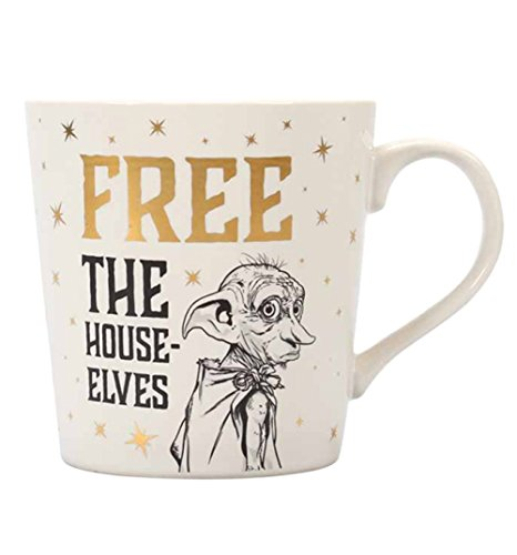 Harry Potter Tasse Dobby Free Elf 325ml Keramik weiß