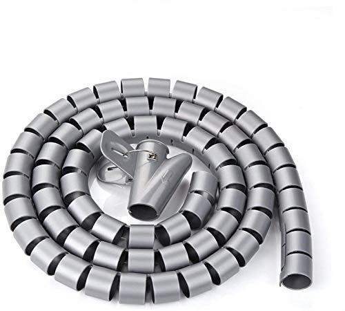 Organizador De Cable Flexible De 30 Mm Cable De Tubo En Espiral...