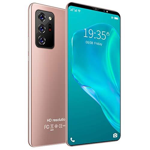 ELLENS Smartphone de Cuatro núcleos, teléfono Celular Desbloqueado con Huellas Dactilares de Pantalla de 5.5 Pulgadas, teléfono móvil Android Barato, SIM Dual, 1GB + 4GB