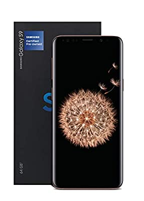 Samsung Galaxy S9 Certified Pre-Owned 64GB Black, 12 Month US Warranty (Renewed) by Samsung
