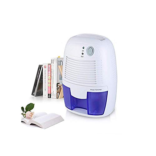 Buy Discount LSYOA Mini Electric Dehumidifier, PortableCompact Ultra Quiet Auto Shut Off Dryer,Blue
